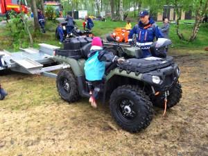 Det brede brukksområdet til ATV kom tydelig frem på Sognsvann.