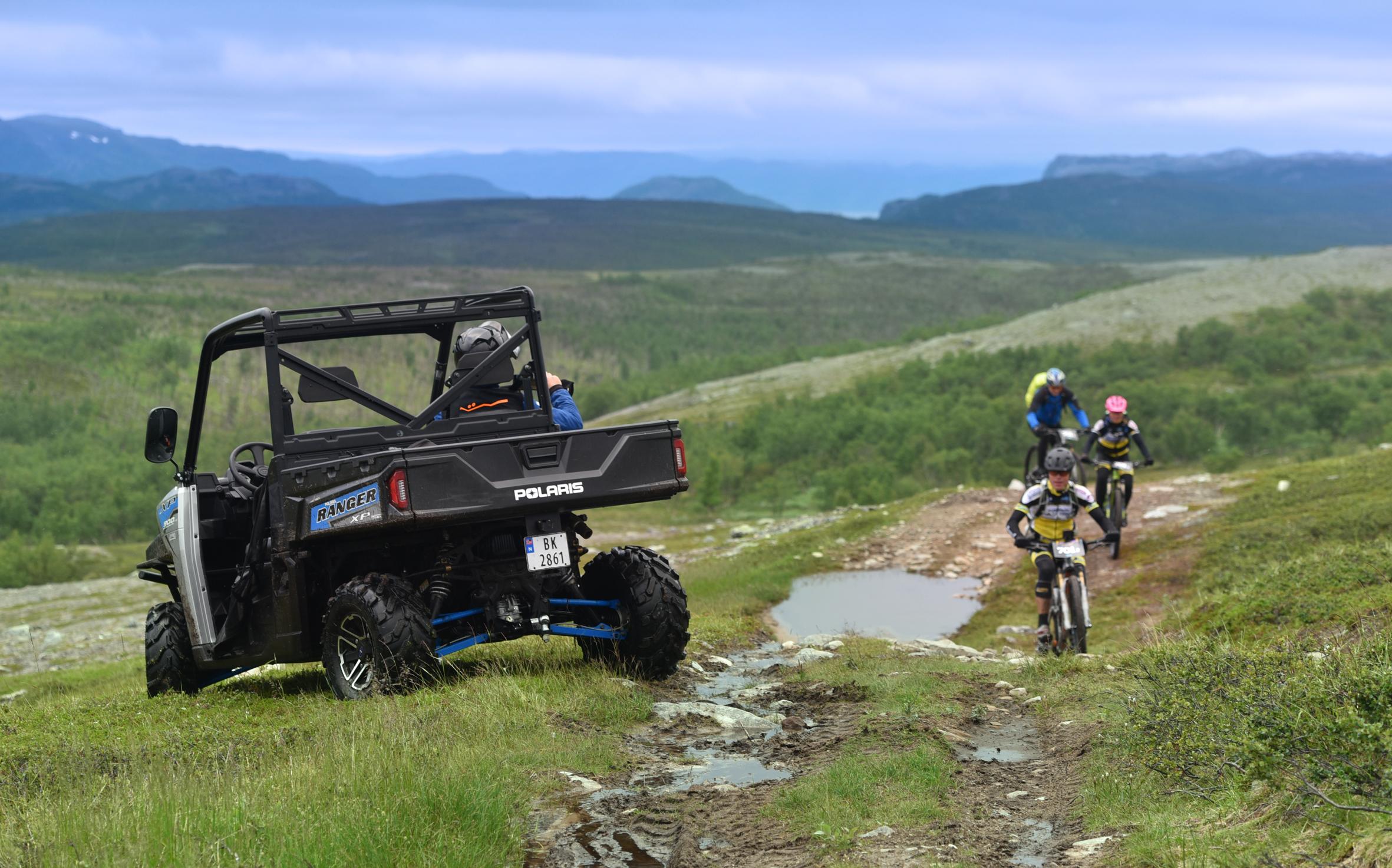 Firehjulinger øker sikkerheten for store idrettsarrangement