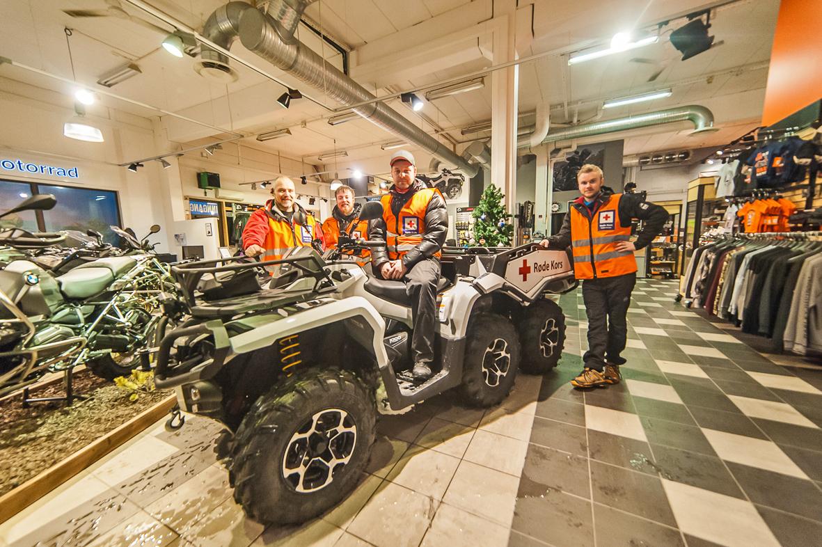 Kommer raskere frem til ulykker med ATV