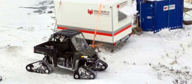 ATV-en løser oppgaven og sparer miljøet
